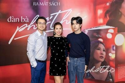 Bạn trai doanh nhân và con trai Hoa hậu Thu Hoài.