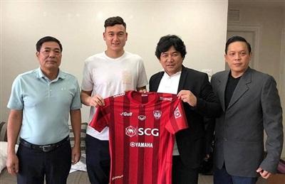 Đại diện CLB Hải Phòng hoàn tất vụ chuyển nhượng Đặng Văn Lâm cho CLB Muangthong United, thi đấu tại Thai-League.