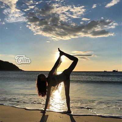 Yoga là bộ môn Phương Lan yêu thích nhất