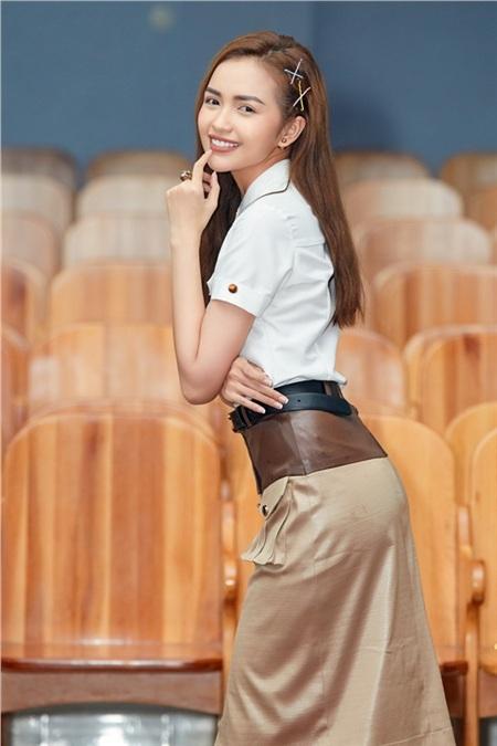 Hoa hậu Ngọc Châu ngồi ghế giám khảo, xúc động trước tài năng của người khuyết tật 0