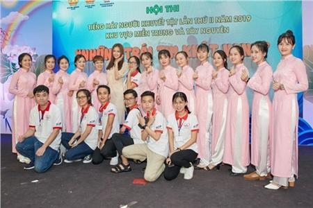 Hoa hậu Ngọc Châu ngồi ghế giám khảo, xúc động trước tài năng của người khuyết tật 9