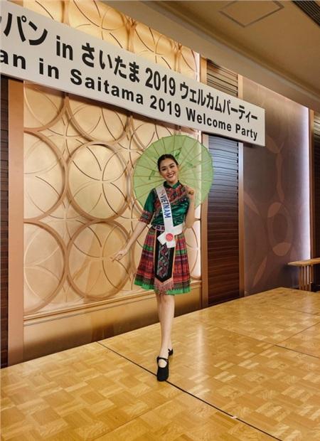 Hóa thân thành 'cô Mị' tại Hoa hậu Quốc tế 2019, Tường San bị chê nhạt nhòa, vũ đạo phản cảm 1