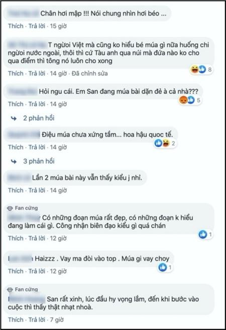 Hóa thân thành 'cô Mị' tại Hoa hậu Quốc tế 2019, Tường San bị chê nhạt nhòa, vũ đạo phản cảm 6