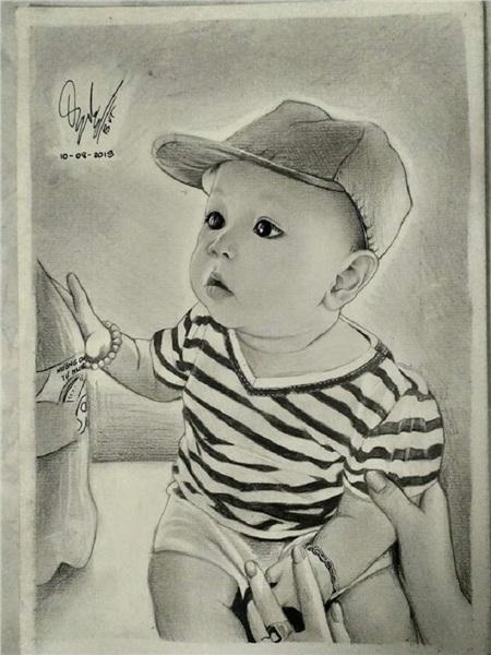 Nam sinh 18 tuổi vẽ tranh truyền thần y như thật, tự nhận thích nhất vẽ Sơn Tùng MT-P 4