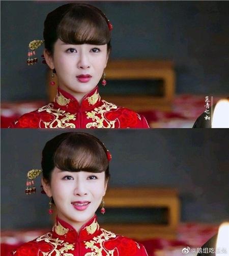 Dương Tử trong Đại Ương ca cũng thử sức vớimột bộ y phục màu đỏ trong ngày thành thân. Tuy nhiên, nhiều người cho rằng Dương Tử không hợp với váy đỏ như những mỹ nhân khác vì phần tóc mái 'phá game'.