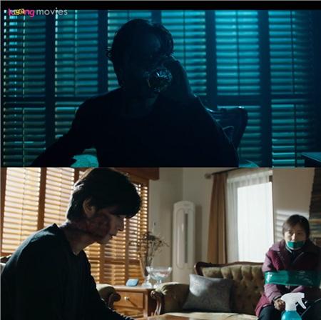 Hyeon U bắt cóc người giúp việc ở căn biệt thự.
