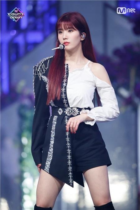 Eunbi gặp vấn đề sức khỏe.