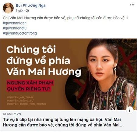 Dàn Hoa hậu 'hot' nhất showbiz Việt đã chính thức bước vào cuộc đấu tranh vì quyền riêng tư, công khai ủng hộ Văn Mai Hương quyết liệt 3