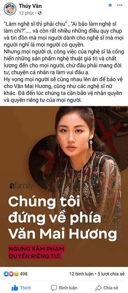 Dàn Hoa hậu 'hot' nhất showbiz Việt đã chính thức bước vào cuộc đấu tranh vì quyền riêng tư, công khai ủng hộ Văn Mai Hương quyết liệt 4