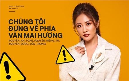 Dàn Hoa hậu 'hot' nhất showbiz Việt đã chính thức bước vào cuộc đấu tranh vì quyền riêng tư, công khai ủng hộ Văn Mai Hương quyết liệt 0