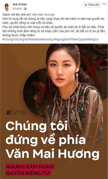 Dàn Hoa hậu 'hot' nhất showbiz Việt đã chính thức bước vào cuộc đấu tranh vì quyền riêng tư, công khai ủng hộ Văn Mai Hương quyết liệt 1
