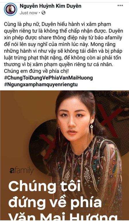 Dàn Hoa hậu 'hot' nhất showbiz Việt đã chính thức bước vào cuộc đấu tranh vì quyền riêng tư, công khai ủng hộ Văn Mai Hương quyết liệt 5