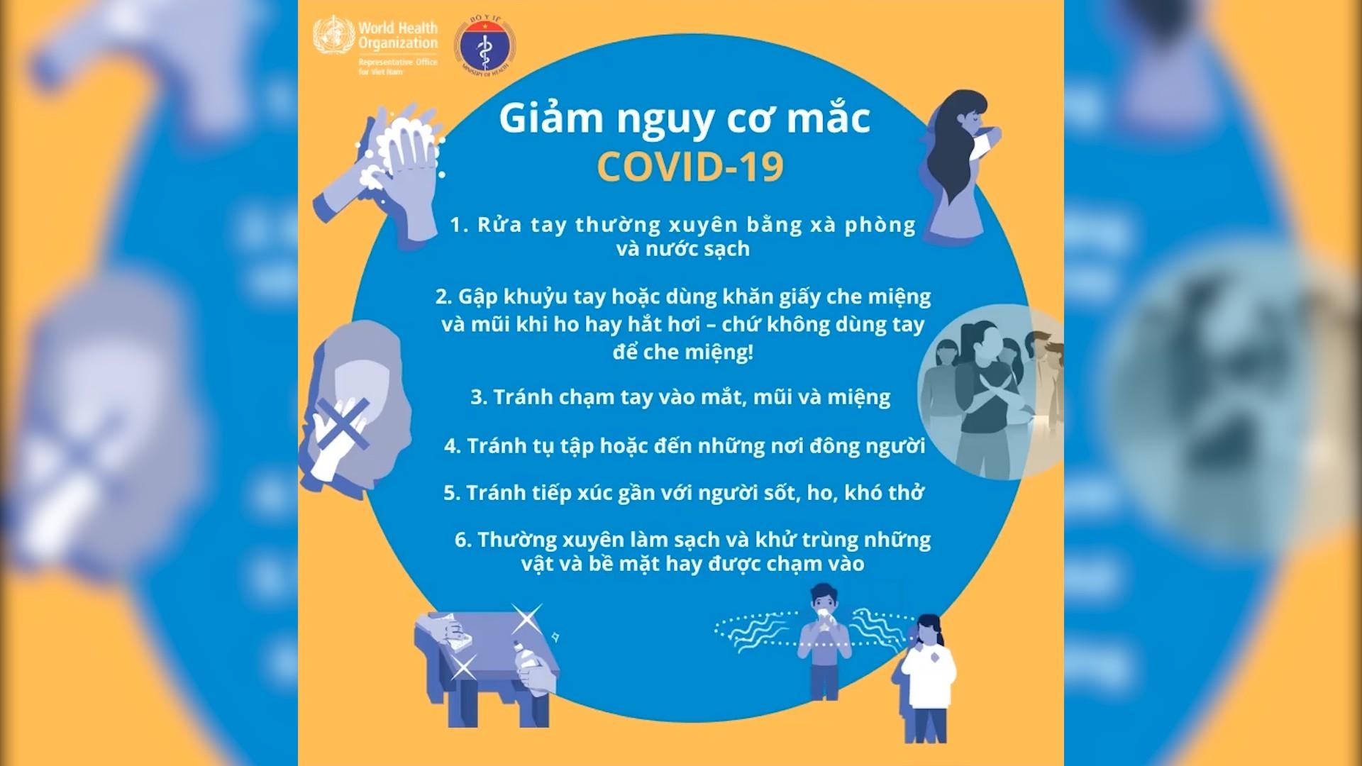 6 mẹo vặt hạn chế lây nhiễm COVID-19