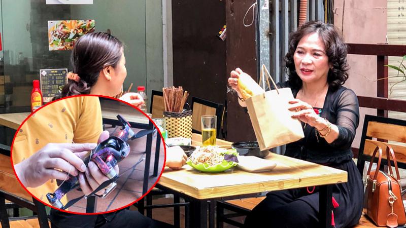 Sáng chế mùa dịch: Quán ăn dùng flycam làm bồi bàn, thực khách thích thú vì hạn chế được sự lây nhiễm virus 'Cô-vy'