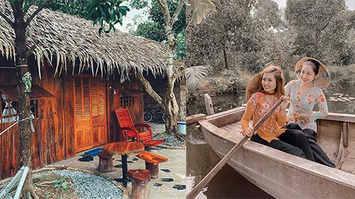 Homestay 'trần trụi' với thiên nhiên ở Cần Thơ cho du khách về với miệt vườn đúng nghĩa