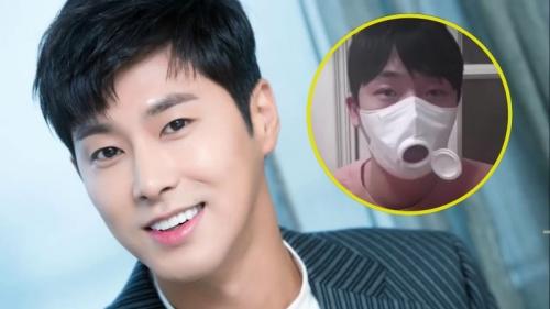 Không những quyên góp hàng triệu won chống Covid-19, Yunho (TVXQ) còn sáng chế khẩu trang loại mới, có thể ăn uống thoải mái khi đeo